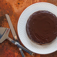 Straight From Tuscany, Light and Delicious Chestnut Cake With Chocolate Ganache.