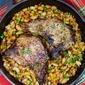 Bourbon Glazed Pork Chops #SundaySupper