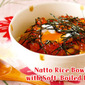 How to Make Natto Rice Bowl with Soft-Boiled Egg (Ontama Donburi) - Video Recipe