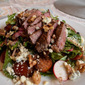 Steak Salad with Walnuts and Blue Cheese