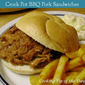 Crock Pot BBQ Pork Sandwiches