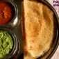 Poha dosa or aval dosa recipe – how to make soft and spongy poha dosa recipe