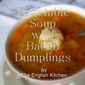 Vegetable Soup with Bacon Dumplings