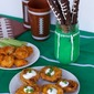 Easy Big Game Day Snacks and Decor Ideas