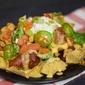 BBQ Chicken Nacho Plate