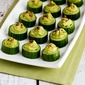 Easy Cucumber Guacamole Appetizer Bites