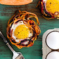 Eggs in Root Vegetable Baskets (Whole30) (Dairy Free) (Grain Free)