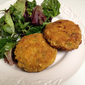 Marc Forgione's Crab Cakes with Smoky Onion Remoulade