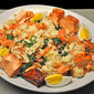 Roast and Smoked Salmon Kedgeree; new bod for Barb