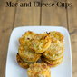 Garlic Ranch Mac and Cheese Cups #NaturallyFreshRecipe Giveaway