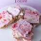 Easy Valentine's Day Saltine Toffee Recipe