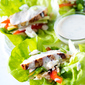 Honey-Dijon Chicken Lettuce Wraps