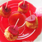 Fried Cheese Mini Buns - Valentine's Day Appetizer