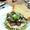 Steak Salad with Mashed Potatoes, Pesto and Gorgonzola Cheese