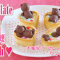 Chocolate Bears Taking a Bath for Valentine's Day - Video Recipe