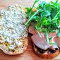 Fig, Blue Cheese, & Turkey Grilled Sandwich