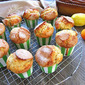 Olive Oil Muffins w/ Almonds & Zest