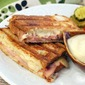 Easy Gluten Free Croque Monsieur with Béchamel Honey Sauce