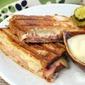 Easy Gluten Free Croque Monsieur with Béchamel Honey Sauce