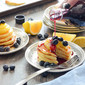 Lemon Ricotta Pancakes with Lemon Curd