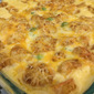 Cheesy Chicken Tater tots Casserole