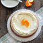 Orange Ricotta Cake with Whipped Sweet Mascarpone