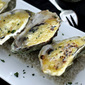 Baked Oysters in the Shell