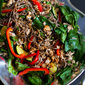 Soba Noodle, Turkey & Spinach Salad Recipe