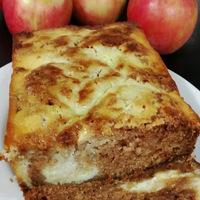 Fresh Apple Ricotta Cheese Loaf Cake