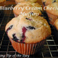 Blueberry Cream Cheese Muffins