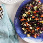 Black Rice Salad with Green Mango and Avocado