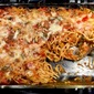Vegetarian Baked Spaghetti with Mushrooms and Zucchini