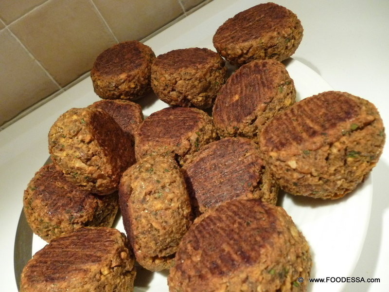 LENTIL and MUSHROOM mix Meatball Patties {baked} Recipe by ...