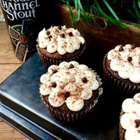 Finger Food Friday: Irish Channel Stout Cupcakes