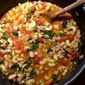 Turkey Minestrone with Spinach