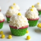 Coconut Overload Cupcakes with Coconut Cream Cheese Frosting