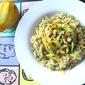 Heidi Swanson's Broccoli Pesto w/ Orzo