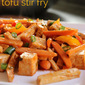 Sweet and Sour Tofu Stir Fry (Simple Way to Eat Less Meat)