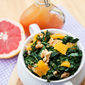 Clean Eating Spring Kale & Orange Salad Recipe