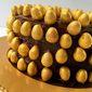 Easter Galaxy Golden Eggs Chocolate Piñata Cake