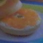 Bagel with Cream Cheese & Orange Marmalade