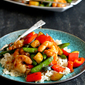 Shrimp & Vegetable Stir Fry with Jasmine Rice
