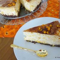 ORANGE Grand Marnier Compote cheesecake