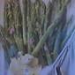 Asparagus with a Lemon Cream Sauce