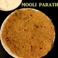 Mooli paratha recipe – how to make mooli paratha or radish paratha recipe