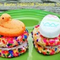 Weekend Gourmet Flashback: Confetti Easter PEEPS® Sandwich Cookies