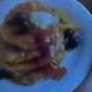 Maple~Blueberry Pancake Stack
