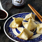 Cheese Wontons with Hot Mandarin Orange Dipping Sauce