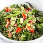 Quinoa Vegetable Salad with Tahini Dressing