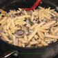 Mushroom Ricotta Penne Pasta Recipe